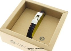 Cycled Black Yellow Red Wrist Band