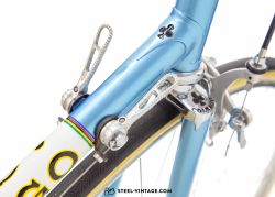 Colnago Super Light Blue Classic Road Bicycle 1970s
