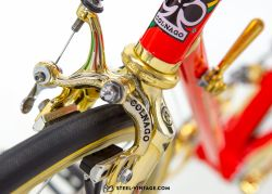 Colnago Super Gold Plated Road Bicycle 1980s