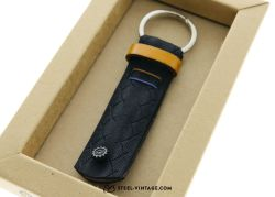 Cycled Yellow Brown Key Holder