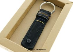 Cycled Continental Race Key Holder