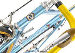 Rossin Record Light Blue Road Bicycle 1980s