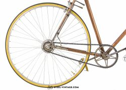 Wilier Copper Plated Rare Vintage Bicycle 1940s