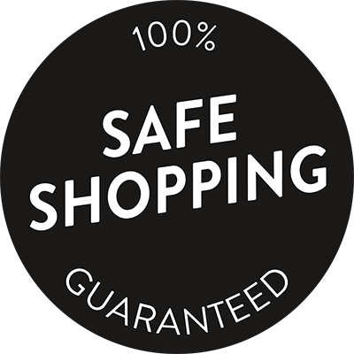 100% Safe Shopping Guarantee