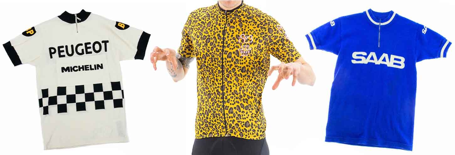 Buy Jerseys & Shorts for Vintage Bicycles Online
