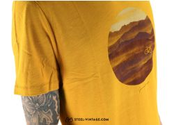 Bike Hills T-Shirt Gold