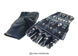 SVB Modern Cycling Gloves - Ethno Black