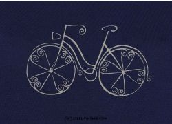 Bike Rocaille Loves Ladies T-Shirt