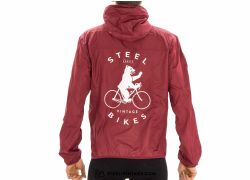 Steel Vintage Bikes Windbreaker Berlin Bear