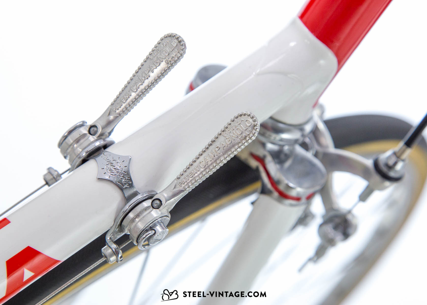 Eroica bicycle - Downtube Shifrter
