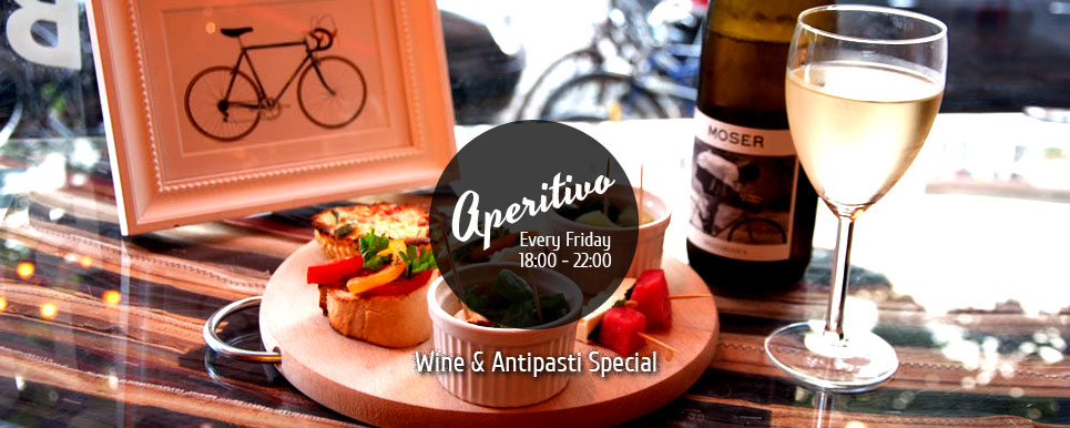 Aperitivo Friday Steel Vintage Bikes Cafe