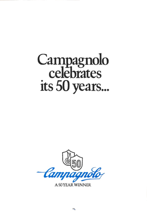Campagnolo 50 years Catalogue